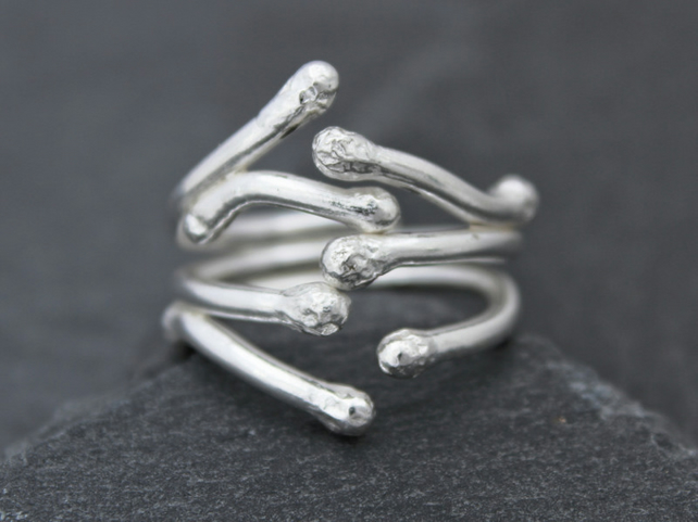 The Willow, An Open Sterling Silver Ring