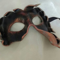 Leather mask - carnival mask - Greek gods - costume masks