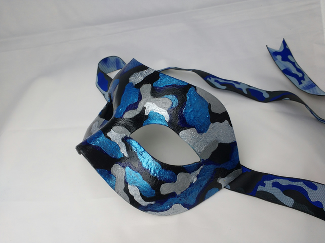 Masks for men - Camouflage mask - masquerade mask - fancy dress masks
