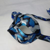 Camouflage mask - masquerade mask - fancy dress masks for men