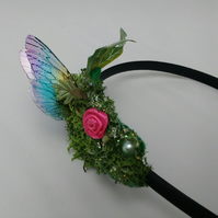 Fairy Alice band, fae hair, faerie hair band, fairy wings