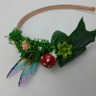 Fairy aliceband, fae, elven headpiece