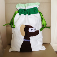 Dog Applique PE Bag