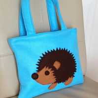 Little Girl's Hedgehog Bag
