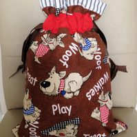 Dog Walkers Drawstring Bag