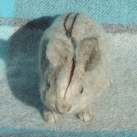 Needle felt rabbit
