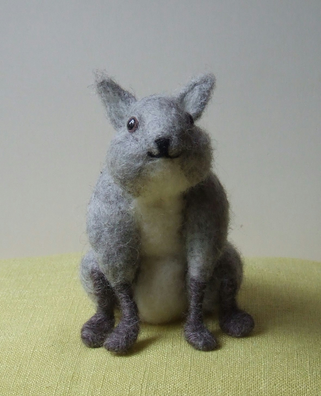 Needle-felt rabbit