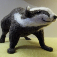 Needle-felt badger