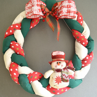 WAMC Classic Handmade Wreath. Christmas decoration