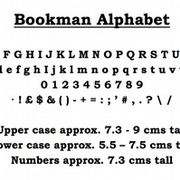BOOKMAN ALPHABET - Book Folding Pattern - PDF Document