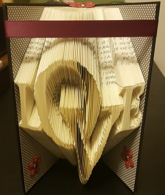 LOVE Staggered - Book Folding Pattern - PDF Document