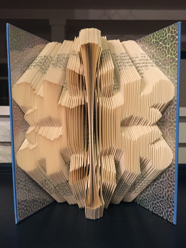 SNOWFLAKE - Book Folding Pattern - PDF Document