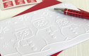 Embossed Christmas Card Packs