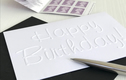 Embossed Birthday Card Packs