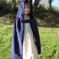 magical midnight blue dressing up cloak  age 2-3