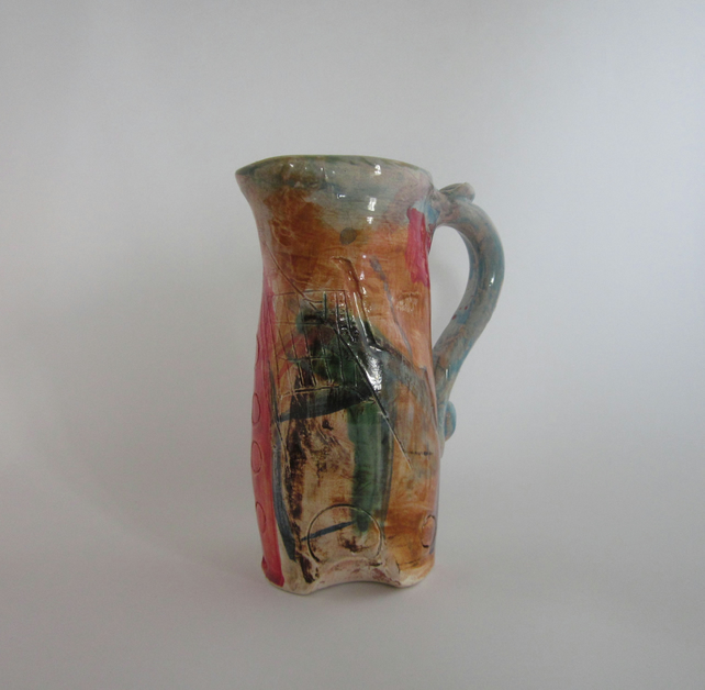 Dyfi Art Jug, Pitcher by Celf Dragon Heart