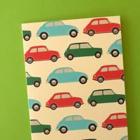 birthday card cute retro cars *boys*