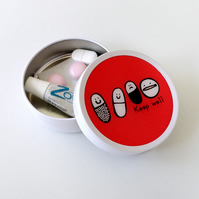 Mini first aid tin