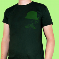 LARGE Mr. Britain green tshirt