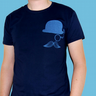 LARGE Mr. Britain blue tshirt