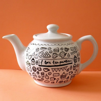 I love tea parties teapot