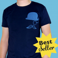 MEDIUM Mr. Britain blue tshirt