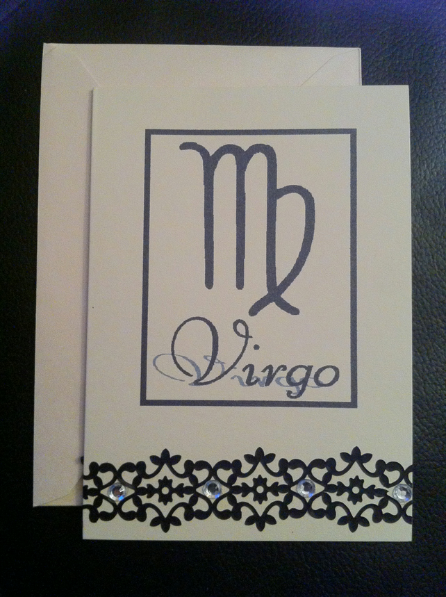 Virgo Greetings Card