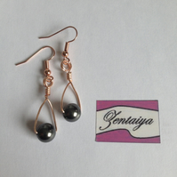 Swarovski Pearl Swing Earrings