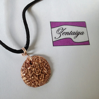 Copper Rose Necklace