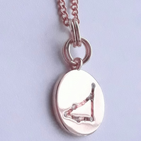 Capricorn Charm Necklace - Rose Gold Plated