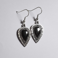 Leaf Shape Dangle Earrings