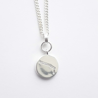 Aries Charm Necklace - Silver Plated