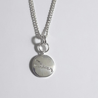 Taurus Charm Necklace - Silver Plated