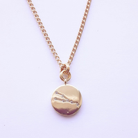 Taurus Charm Necklace - Gold Plated