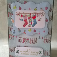 Christmas Stockings Card