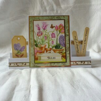 Thinking Of You Card - Spring Bulbs
