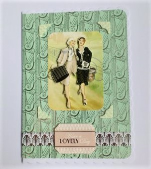 Have a Lovely Day Card - Free Postage
