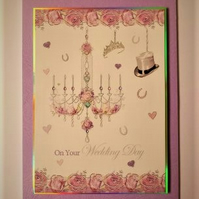 On Your Wedding Day Card - Free Postage