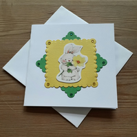 Mini Easter Bunny Card