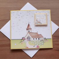 Easter Church Celebration Card