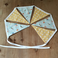 Children's Fabric Bunting – Elephant