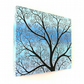 Winter Tree Original Painting - acrylic art of a snow covered tree