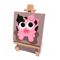 Cute Mini Pig Painting