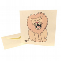 You're Roarsome Lion Card. CQ-LRS
