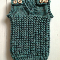 Boys Hand Knitted Vest Tank Top