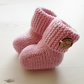 Hand Knitted Baby Booties, Baby Shoes, Baby Uggs