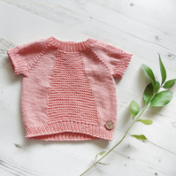 Baby Jumper, Knitted Jumper, Kids Jumper, Childs Jumper, Sweater, Hand Knit