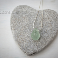 Welsh Sea Glass Pendant