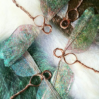 Dragonfly Copper Hanging and Table Decorations