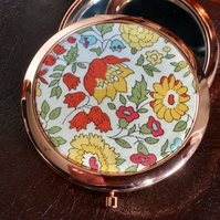 Liberty of London Fabric Print Compact Mirror - gift